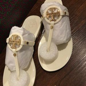 Tory Burch mini miller flat thong sandals